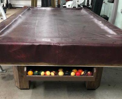 Brunswick 3 Piece Slate Pool Table