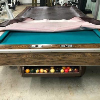 Brunswick 3 Piece Slate Pool Table
