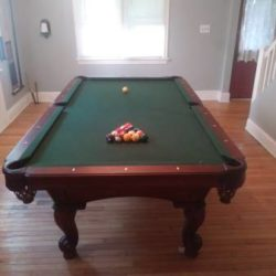Olhausen Claw Foot Pool Table