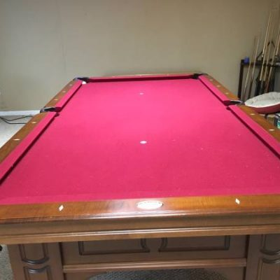 Top off of the Line Pool Table