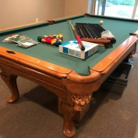AMF Playmaster 4x8 Slate Pool Table With Accessories