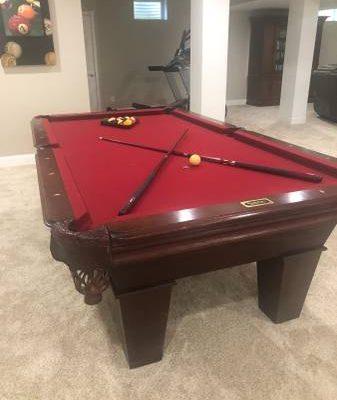 Vonderhaar Pool Table