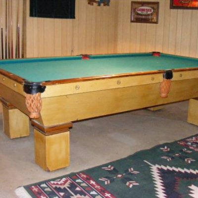 Brunswick Monarch Pool Table and Accessories