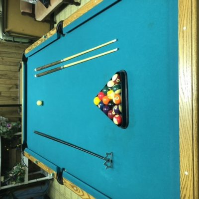 8 foot Olhausen pool table